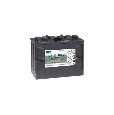 Gelbatteri 12V 120 Ah Sonnenschein GF1205V. LxBxH: 345x174x283mm