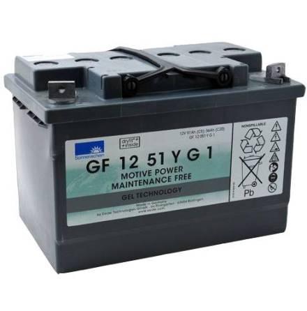 Gelbatteri Sonnenschein 12V/51Ah/5h