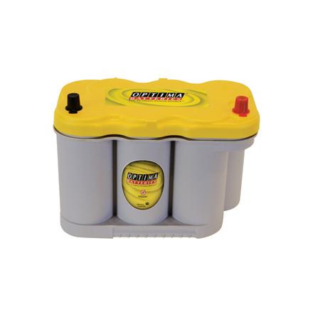 Optima batteri 12V 66Ah Yellow Top  8027-116 LxBxH:309x172x221mm