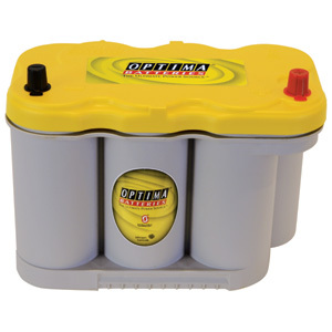 Optima batteri 12V 66Ah Yellow Top  8027-116 LxBxH:309x172x221mm