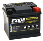 Fritidsbatteri 40Ah GEL Tudor Exide GEL ES450 LxBxH:210x175x125mm
