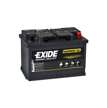 Tudor Exide GELbatteri 12V/56Ah