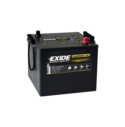 Fritidsbatteri 110Ah GEL Tudor Exide GEL ES1200 LxBxH:286x270x230mm
