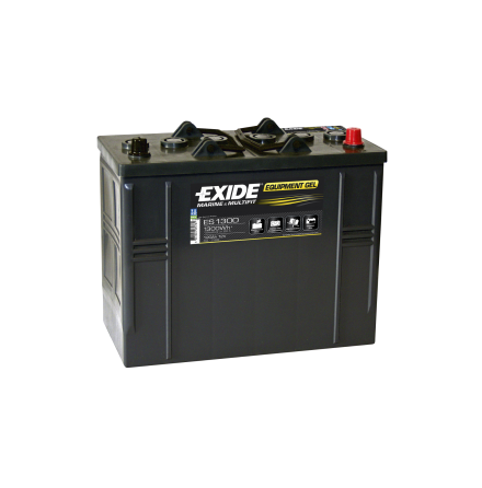 Fritidsbatteri 120Ah GEL Tudor Exide GEL ES1300 LxBxH:350x175x290mm
