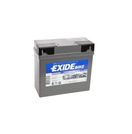 Tudor Exide MC-Batteri 19Ah GEL 80019 lxbxh=185x80x170mm 12Y16A-3A 12Y16A-3B DIN51814 DIN51913