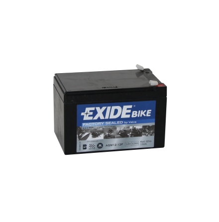 Tudor Exide MC batteri 12Ah AGM 12-12 4924 lxbxh= 150x100x100mm