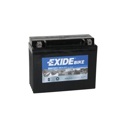 Tudor Exide MC batteri 21Ah AGM 12-21 4922 lxbxh=205x86x165mm Y50-NL18L-A3