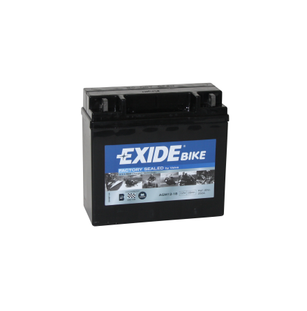 Tudor Exide MC batteri 18Ah AGM 12-18 4584 YB16CL-B YB16CL-BS YTX16CL-B-BS