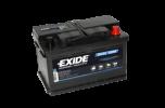 Fritidsbatteri 70Ah AGM Dual Tudor Exide EP600 LxBxH:278x175x190mm