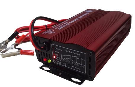 Fräscha Batteriladdare 8-stegs 12V 8A(10A) för laddning av Deep cycle AGM MZ-29