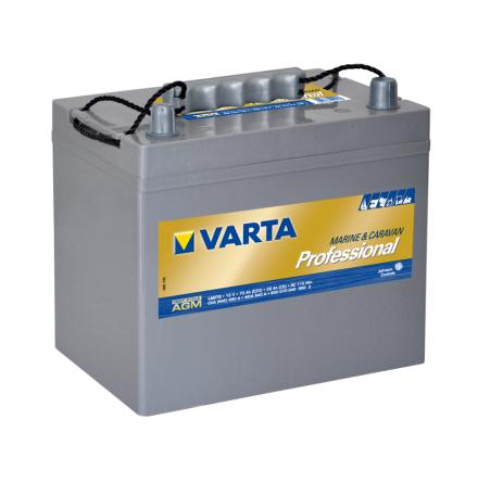 Fritidsbatteri 12V 70Ah Varta LxBxH=LxBxH:230x169x230mm Professional AGM LAD70