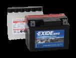 Tudor Exide MC batteri 3Ah AGM YTX4L-BS lxbxh=115x70x85mm 4590 YB4L-A/B YT4L-BS YTZ5S