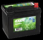 Tudor Exide MC Garden Gräsklipparbatteri 24Ah  lxbxh=197x132x186mm U1R-250 4900