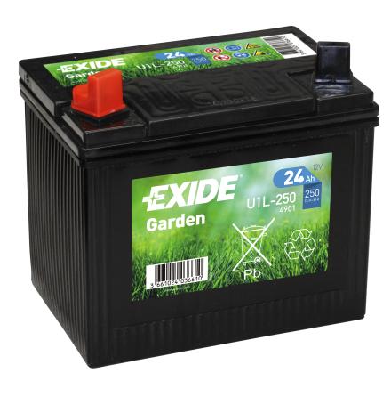 *Tudor/Exide batteri 12V/24Ah