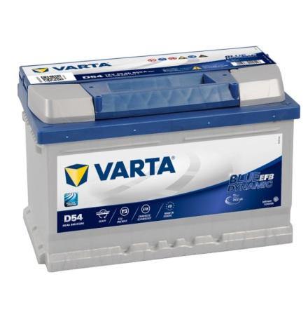 Bilbatteri 12V 65Ah Varta FD54EFB LxBXH=278x175x175mm Blue Dynamic