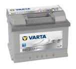 Startbatteri Varta Silver Dyn. 12V/61Ah