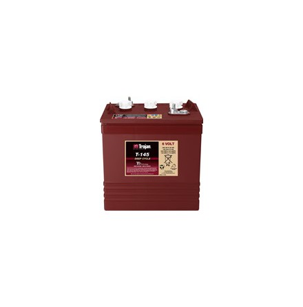 TROJAN T145 Deep-cycle batteri 6V 260Ah. LxBxH:264x181x260/295mm