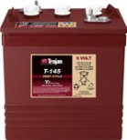 Batteri Trojan deep-Cycle 6V/260Ah T-145