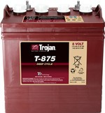 Batteri Trojan 8V/170Ah deep-cycle T875