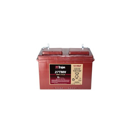 TROJAN 27TMH batteri Deep-cycle 12V 115Ah LxBxH:324x171x223/227mm