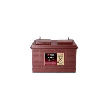 TROJAN 30XHS batteri Deep-cycle 12V 130Ah LxBxH:355x171x234/256mm