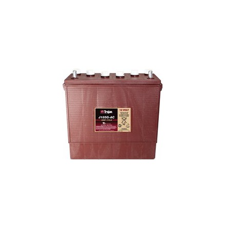 TROJAN J185G-AC batteri Deep-cycle 12V 205Ah LxBxH:381x178x346/371mm