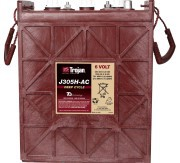 TROJAN J305H batteri Deep-cycle 6V 315Ah LxBxH:311x178x343/365mm