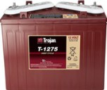 TROJAN T-1275 batteri Deep-cycle 12V 150Ah LxBxH:327x181x245/276mm
