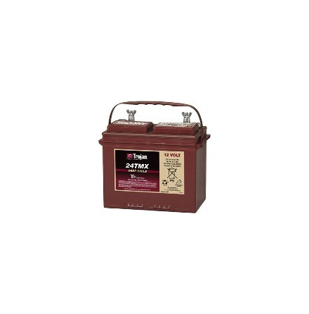 TROJAN 24TMX batteri Deep-cycle 12V 85Ah LxBxH:286x171x223/227mm