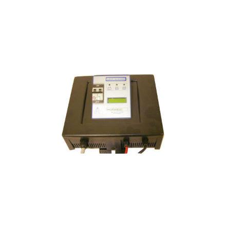 """Batteriladdare 12V,24V/36V/48V.40-60A För GEL,AGM och vätskebatterier 285-720Ah. Programmera med ett """"kreditkort""""."""