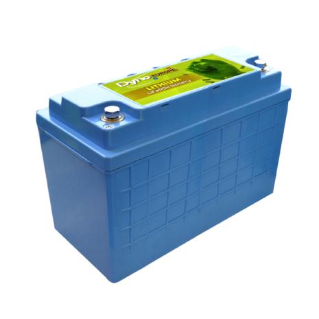 Lithium-Ion batteri(LiFePO4) 25,6V/50Ah med PCM För båt, husbil mm.