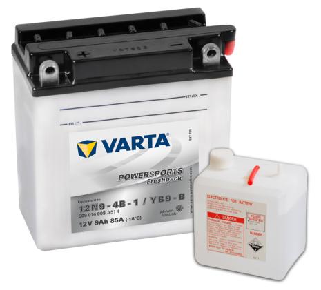 MC-batteri 9Ah Varta YB9-B 12N9-4B-1