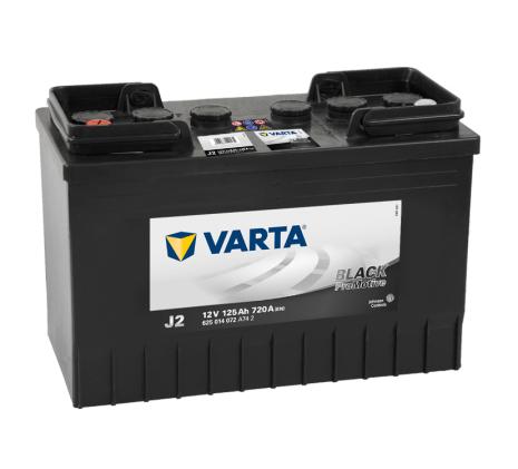 STARTBATTERI VARTA 12V 125AH J2 PRO