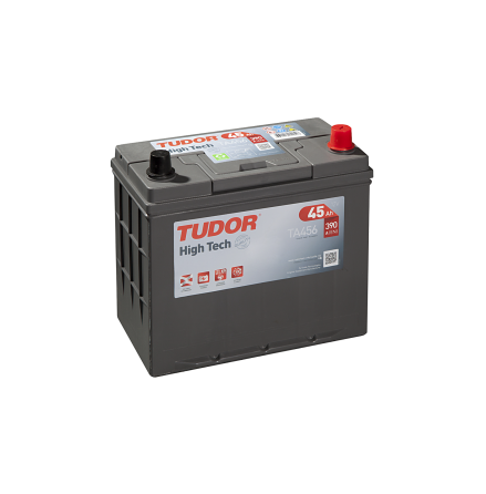 Startbatteri 45Ah Tudor Exide TA456 High-Tech. LxBxH:237x129x227mm