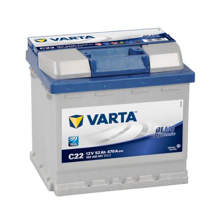 Batteri 12V/52Ah Varta Blue Dynamic