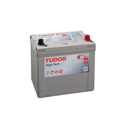 Startbatteri 65Ah Tudor Exide TA654 High Tech. LxBxH:230x173x222mm