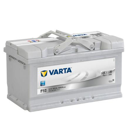 Bilbatteri 12V 85Ah Varta F18 LxBxH=315x175x175mm Silver Dynamic 585200080