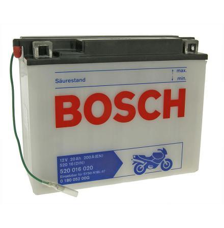 MC-batteri 20 Ah Bosch M4048 520016020 LxBxH:206x92x163mm