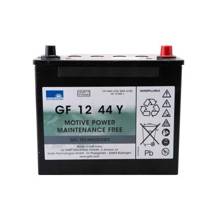 Gelbatteri 12V 50 Ah Sonnenschein  Exide GF12044Y LxBxH:261x135x230mm