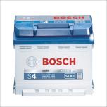 Bilbatteri 12V 44Ah Bosch S4001 ETN 0 092 S40 010 LxBxH:207x175x175mm