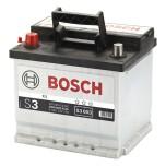 Bilbatteri 12V 45Ah Bosch S3003 DIN: 545413040 LxBxH:207x175x190mm