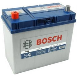 Bilbatteri 12V 45Ah Bosch S4023 DIN: 545158033 LxBxH:238x129x227mm