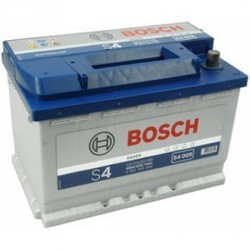 Bilbatteri 12V 74Ah Bosch S4009 DIN: 574013068 LxBxH:278x175x190mm