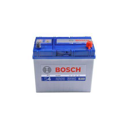 Bilbatteri 12V 45Ah Bosch S4021 DIN: 545156033 LxBxH:238x129x227mm