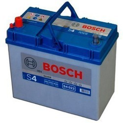 Bilbatteri 12V 45Ah Bosch S4022 DIN: 545157033 LxBxH:238x129x227mm