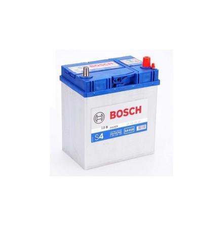 Bilbatteri 12V 40Ah Bosch S4018 DIN: 540126033 LxBxH:187x127x227mm