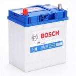 Bilbatteri 12V 40Ah Bosch S4019 DIN: 540127033 LxBxH:187x127x227mm