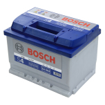 Bilbatteri 12V 60Ah Bosch S4004 DIN: 560409054 LxBxH:242x175x175mm