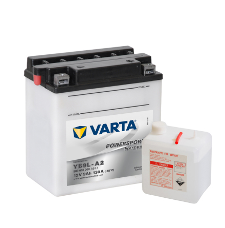 MC-batteri 9Ah Varta YB9L-A2 VARTA Powersports