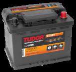 Startbatteri 62Ah Tudor Exide TN600 LxBxH:245x175x190mm